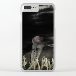 The truth is dead 4 Clear iPhone Case