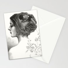 Requiro - pencil drawing Stationery Cards