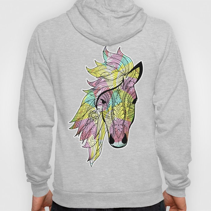 Tribal Horse Tee, Aztec Boho design, Horse product Hoody