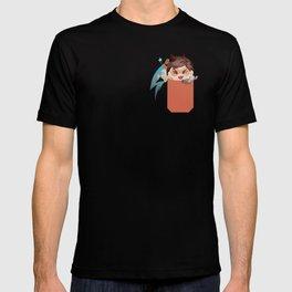 Pocket attack tee racer T-shirt
