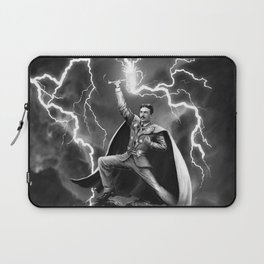 Tesla: God of Thunder Laptop Sleeve