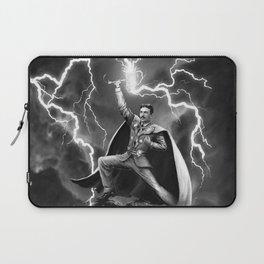 Tesla: God of Thunder Laptop Sleeve