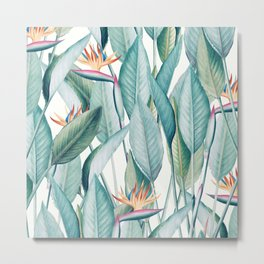 Back to Paradise Island #society6 #decor #buyart Metal Print