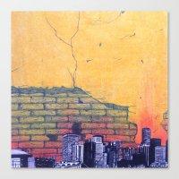 denver Canvas Prints featuring denver by Saari Shelhart
