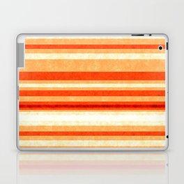 Red Orange Grunge Lines Laptop & iPad Skin