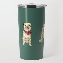 Luna the Pup Travel Mug