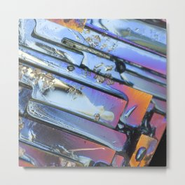 Searching for Pieces of Me: Abstract Art Metal Print