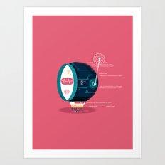 :::Mini Robot-Fos::: Art Print