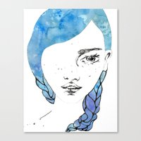 gemma Canvas Prints featuring Gemma by Jessee Fish