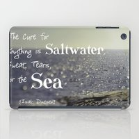the cure iPad Cases featuring Saltwater Cure by ShadeTree Photography