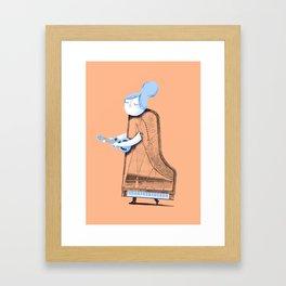 Lady in G Major Framed Art Print
