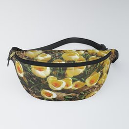 Yellow Croci Welcoming the Day Fanny Pack