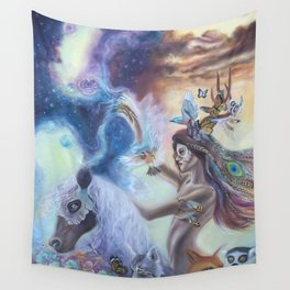 Spirit Warrior Wall Tapestry