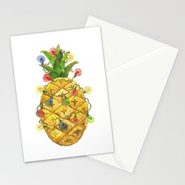 The Christmas Pineapple Stationery Cards