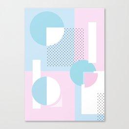 Geometric Calendar - Day 11 Canvas Print