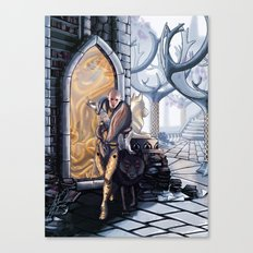 Solas leaves Canvas Print