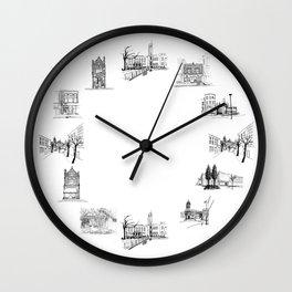 crouch end o'clock Wall Clock