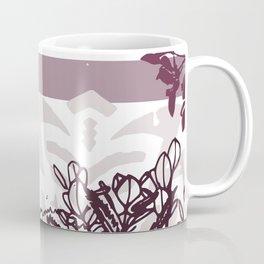 MAUVE GARDEN Coffee Mug