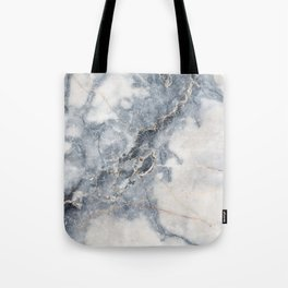 Gray Marble Texure Tote Bag