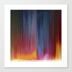 Pixel Curtain Canvas Print