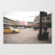 Pikes Place Canvas Print