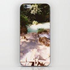 Kanchanburi TH - Erawon Waterfalls  iPhone & iPod Skin
