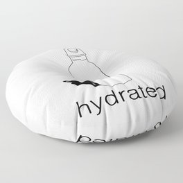 Stay Hydrated Floor Pillow