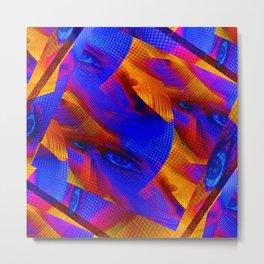 facial Metal Print