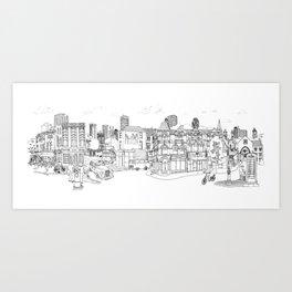 Street Britain Art Print