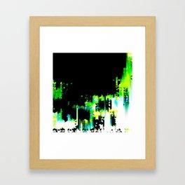 Blasted 02 Framed Art Print