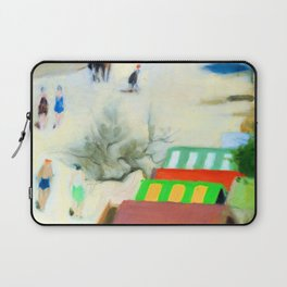 Clarice Beckett Sandringham Beach Laptop Sleeve