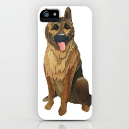 The German Shepard iPhone Case