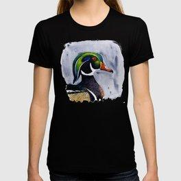 Wood Duck portrait T-shirt