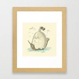 Ghost Ship Framed Art Print