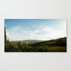 Tuscan Hills 2 Canvas Print