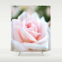 rose Shower Curtains featuring Rose by WhimsyRomance&Fun