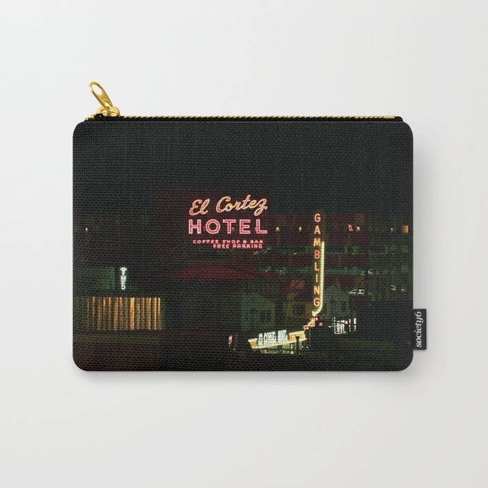 El Cortez Hotel Carry-All Pouch