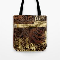 the life aquatic Tote Bags featuring aquatic life by Marie Elke Gebhardt