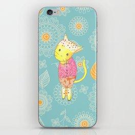 Dancing Cat iPhone Skin