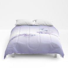 Fey Lights Fractal in Violet Comforters
