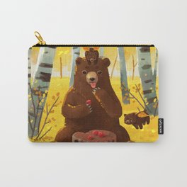 Chocolate cake and the bears Carry-All Pouch