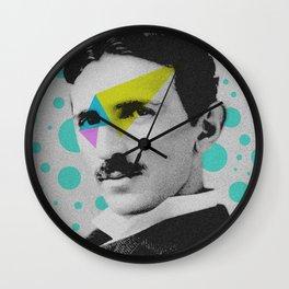 Nicola Tesla Wall Clock