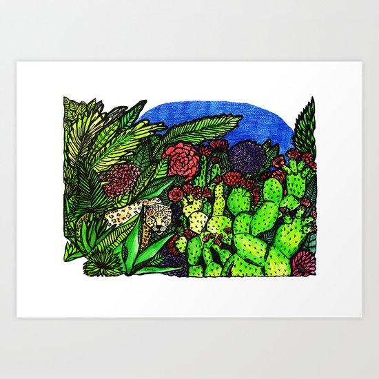 Salvaje Art Print