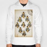 medieval Hoodies featuring Medieval Swarm by Vintage Avenue