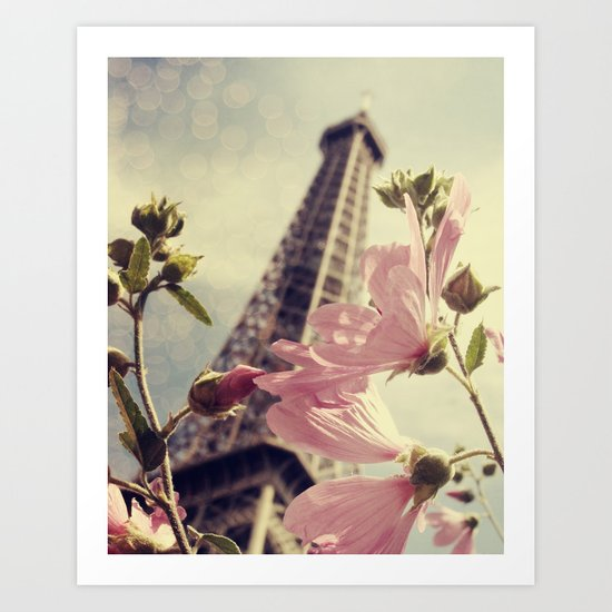 Springtime In Paris Art Print