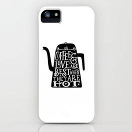 COFFEE & LOVE iPhone Case