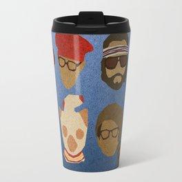 Wes Anderson Hats Travel Mug