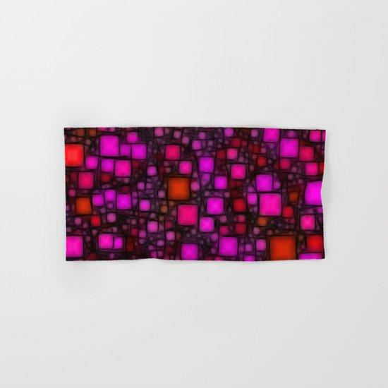 Post It Pink Glow Hand & Bath Towel