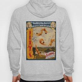 Vintage Barnum & Bailey Circus - Trapeze Hoody