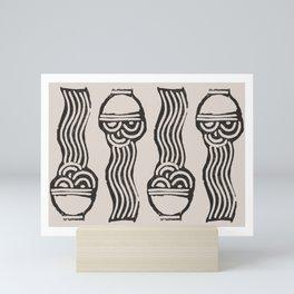 Noodles Mini Art Print